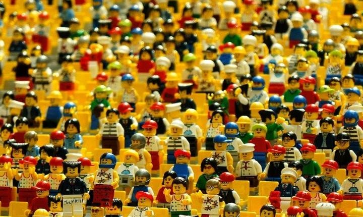 Various Lego character toys